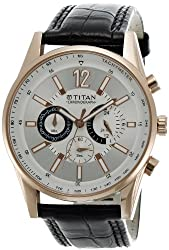 Titan Octane Chronograph Analog Multi-color Dial Mens Watch - NC9322WL01A