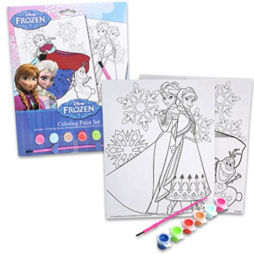 Disney Frozen Coloring Paint Set - 1