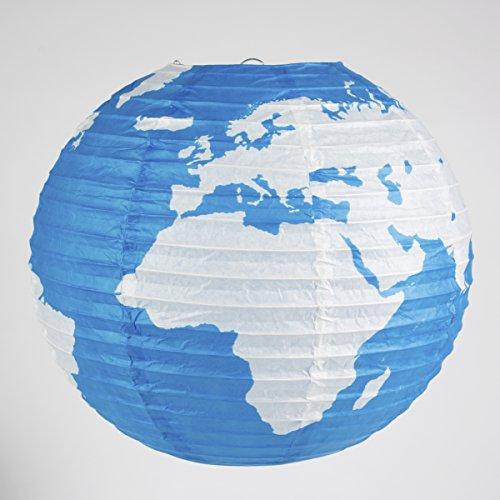 """'Carta paralume """"Blauer Planet-diametro 35cm"""