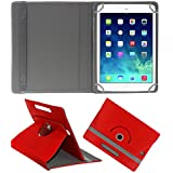 ACM ROTATING 360° LEATHER FLIP CASE FOR APPLE IPAD MINI 2 TABLET STAND COVER HOLDER RED