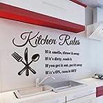 xiaoying Kitchen Rules Art Wall stick...