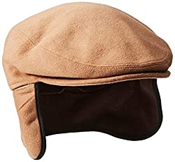 Stetson Men's Cashmere Blend Ivy Cap, Camel, Medium