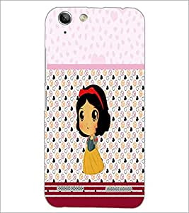 PrintDhaba Cute Doll D-5880 Back Case Cover for LENOVO VIBE K5 PLUS (Multi-Coloured)