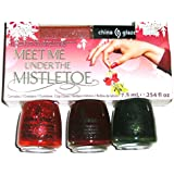 China Glaze Meet Me Under the Mistle Toe Christmas 2011