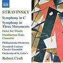 Stravinsky: Symphony in C; Symphony In Three Movements
