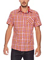 SEVENTYSEVEN Camisa Hombre Pitch (Rojo)