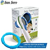 BEST Baby Thermometer - 5 ★ Rated - Non Contact Design - Infra Red - Know Your Child's Temperature Quick & Easy - Lifetime Guarantee