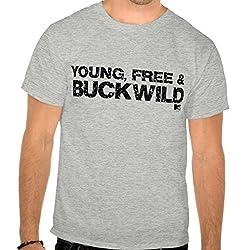 Buckwild: Young Free Tee - Guys