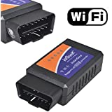 ieGeek® WIFI Wireless OBD2 Auto Scanner Adapter Scan Tool for iPhone iPad iPod