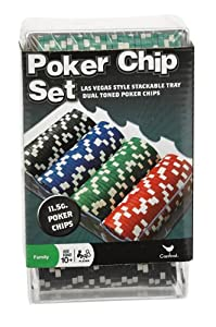 100 Ct. Classic Games Poker Chip Set 11.5 gm (styles may vary)