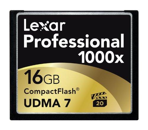 Lexar 16GB 1000X Professional Compact Flash Card