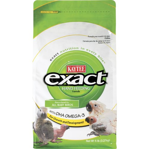 Kaytee Exact Hand Feed Formula for Baby Birds, 5-Pound Bag