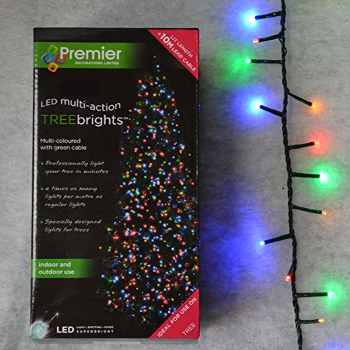 Multi coloured premier treebright christmas lights 1000 multi coloured premier treebright christmas lights mozeypictures Choice Image