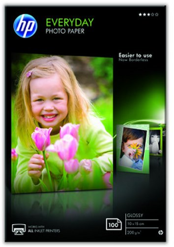 HP CR757A Everyday Glossy Photo Paper 100 A6 10 x 15 cm (A6) Carta fotografica