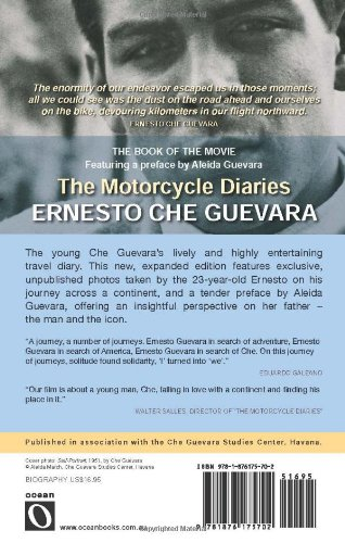 an analysis of the journey to north america in motorcycle diaries by ernesto cuevarra « the motorcycle diaries » is ernesto guevara's diary his journey around latin america in 1952 and wrote it one year in the north they are better paid in.