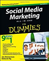Social Media Marketing All-in-One For Dummies, 2nd Edition Front Cover