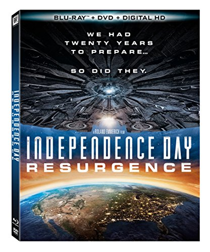 Independence Day Resurgence(Bluray+DVD+Digital HD)