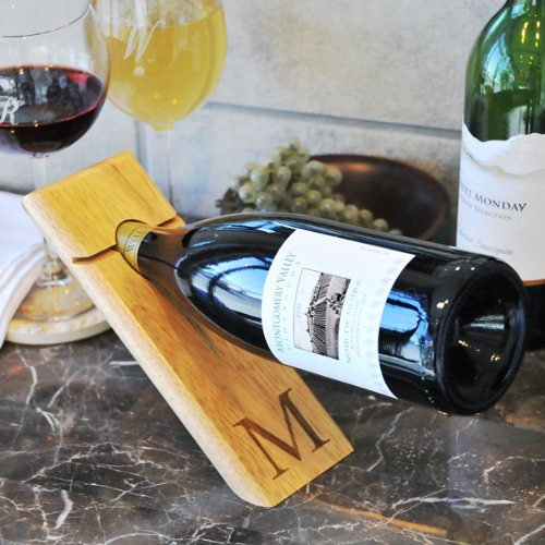 Cathy's Concepts Counter Balance Wine Bottle Holder