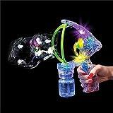 Light-Up Musical Bubble Gun