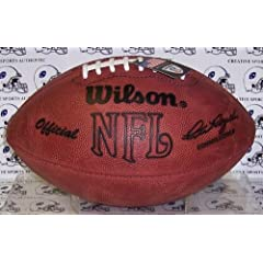 Wilson Official NFL Football - Throwback Pete Rozelle by Sports Memorabilia