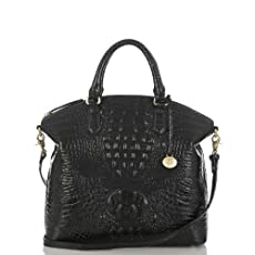 Large Duxbury Satchel<br>Black Melbourne