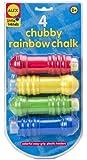 ALEX Toys Little Hands Chubby Rainbow Jumbo Chalks