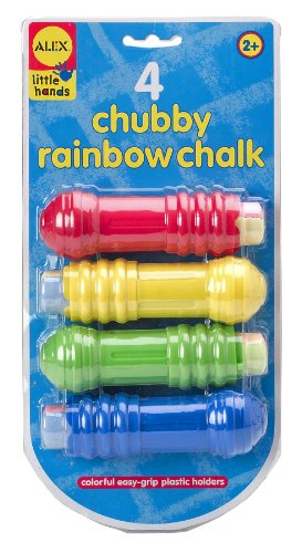 ALEX Toys - Chubby Rainbow Jumbo Chalks and Plastic