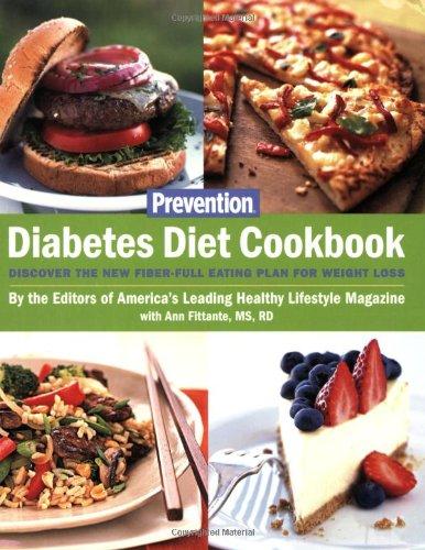 Prevention'S Diabetes Diet Cookbook front-488033