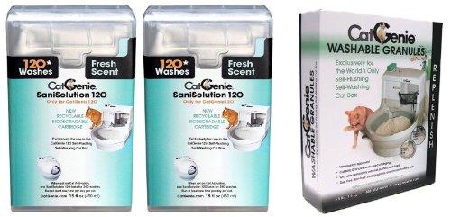 CatGenie 120 SaniSolution SmartCartridge Fresh Scent