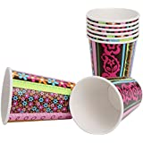 Hippie Chick Paper Cups (8ct)