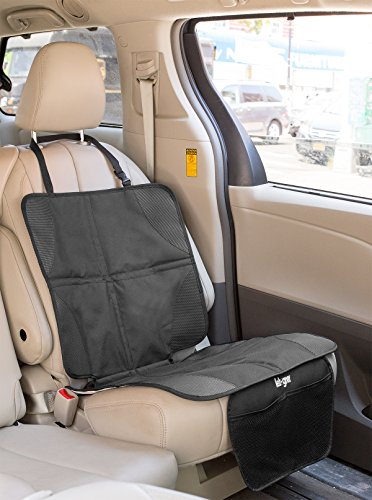 car seat protector by lebogner luxury mat cover protector to keep nice and clean under your. Black Bedroom Furniture Sets. Home Design Ideas