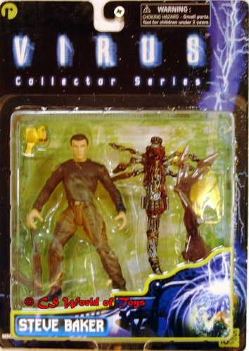 Virus Collectors Series Steve Baker 6 inch Action Figure - 1