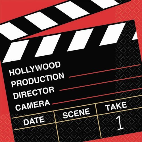 hollywood themed coloring pages - amscan movie night hollywood themed director 39 s cut clapper