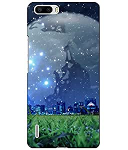 Case Cover Printed Back Cover for Huawei Honor 6 Plus