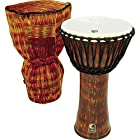 Toca SFDJ14LB Synergy Freestyle Canon 14-Inch Lava Djembe with Matching Bag
