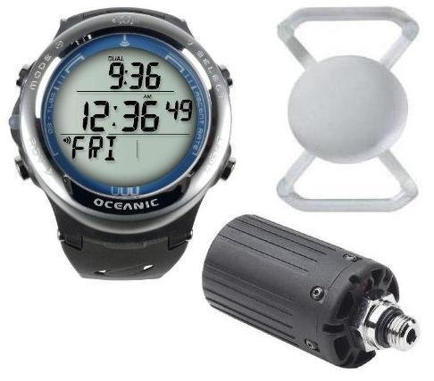 Xmas Sale Price Reduced $400 - New Oceanic Atom 3.1 Dive Computer (Slate Blue) Complete With Black Transmitter, Free Lens Protector Valued At $12.95 For Added Protection To The Glass Face Of Your Dive Computer & Free Online Training