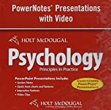 img - for Psychology Principles in Practice: Powerpoint Note Presentations with Video DVD book / textbook / text book