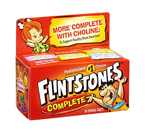 Flintstones Complete Children'S Multivitamin/Multimineral Supplement Chewable Tablets
