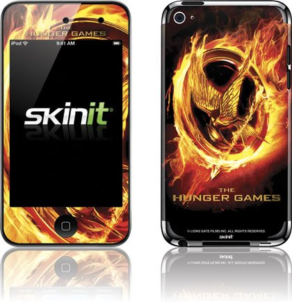 Skinit The Hunger Games Logo Vinyl Skin for iPod Touch (4th Gen)