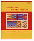 Fundamentals of Heat and Mass Transfer 6th Edition with IHT/FEHT 3.0 CD with User Guide Set