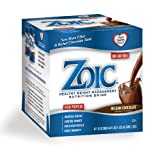 ZOIC Nutrition Drink, Belgian Chocolate, 4 Count (Pack of 6) ~ Solis Brands