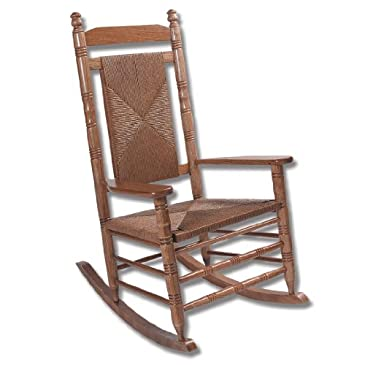 Hardwood Woven Seat Rocking Chair - RTA