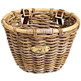 Nantucket Baskets Tuckernut Oval Willow Gray