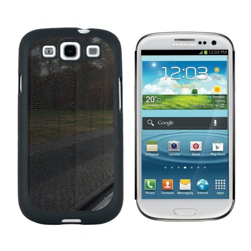 Vietnam Memorial Wall Washington Dc - Snap On Hard Protective Case For Samsung Galaxy S3 - Black front-641657