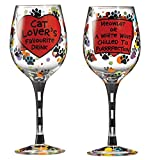 Our Name Is Mud Cat Lovers Wine Glass