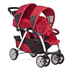 Chicco 2015 Twin Stroller Together Red
