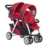 Twin Stroller Chicco Together 77 Red