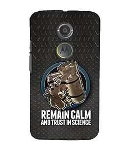 EPICCASE Bomb Cases Mobile Back Case Cover For Moto X 2nd Gen (Designer Case)