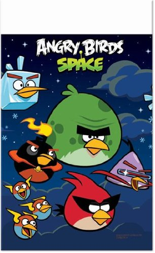 Angry Birds Space Birthday Table Cover