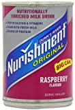 Dunns River Nurishment Original Raspberry 400 g (12pack)